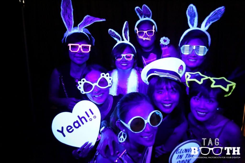 Tagbooth Glow Booth Malaysia
