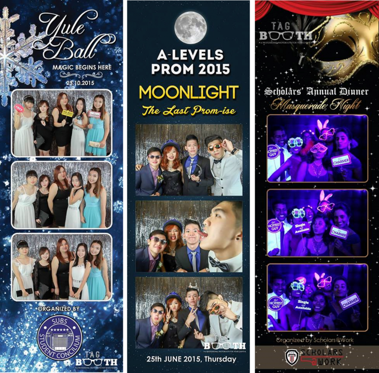 Prom Night Photo Strip