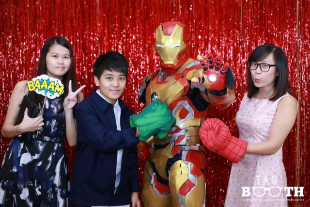 Iron Man Phootbooth