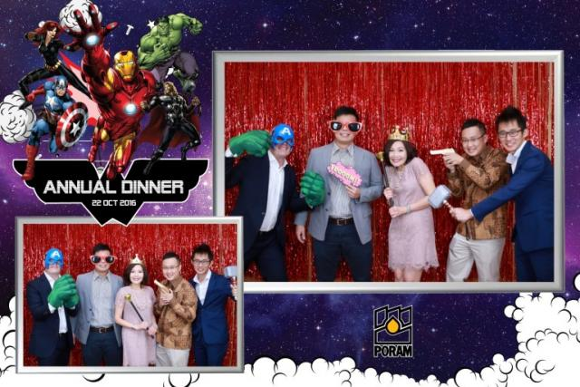 Superhero Theme Photobooth