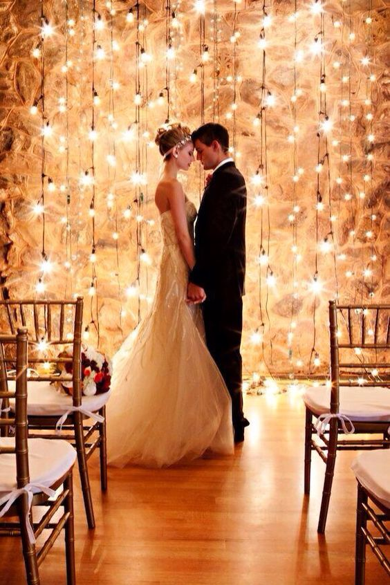 Fairy Lights Photo Backdrop