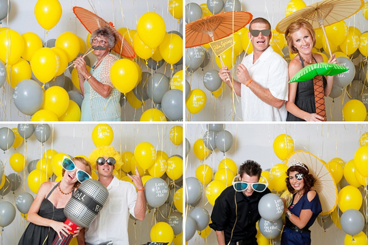 Balloon Photobooth Backdrop Idea