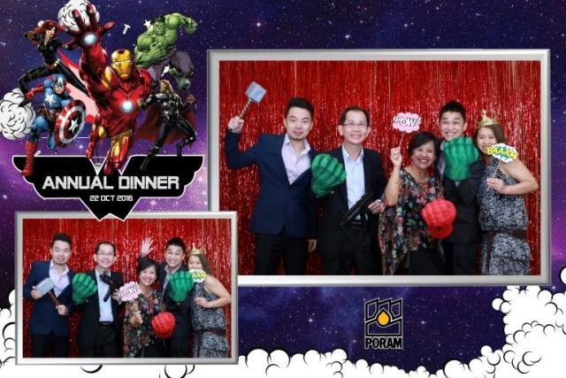 Supehero Photobooth