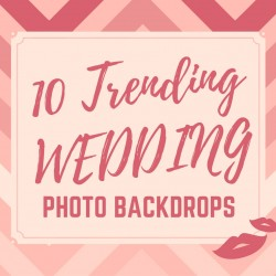 Trending Wedding Photo Backdrops