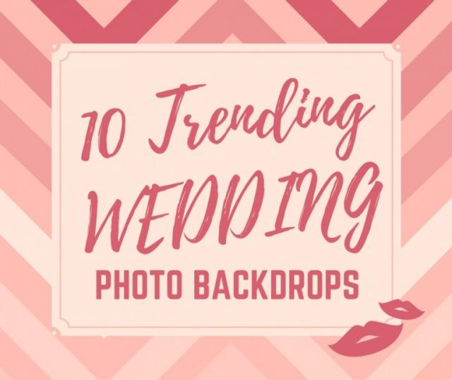 Wedding Photo Backdrop