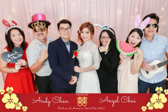 Andy & Angel's Wedding - Hao Xiang Chi Restaurant, Setia Alam