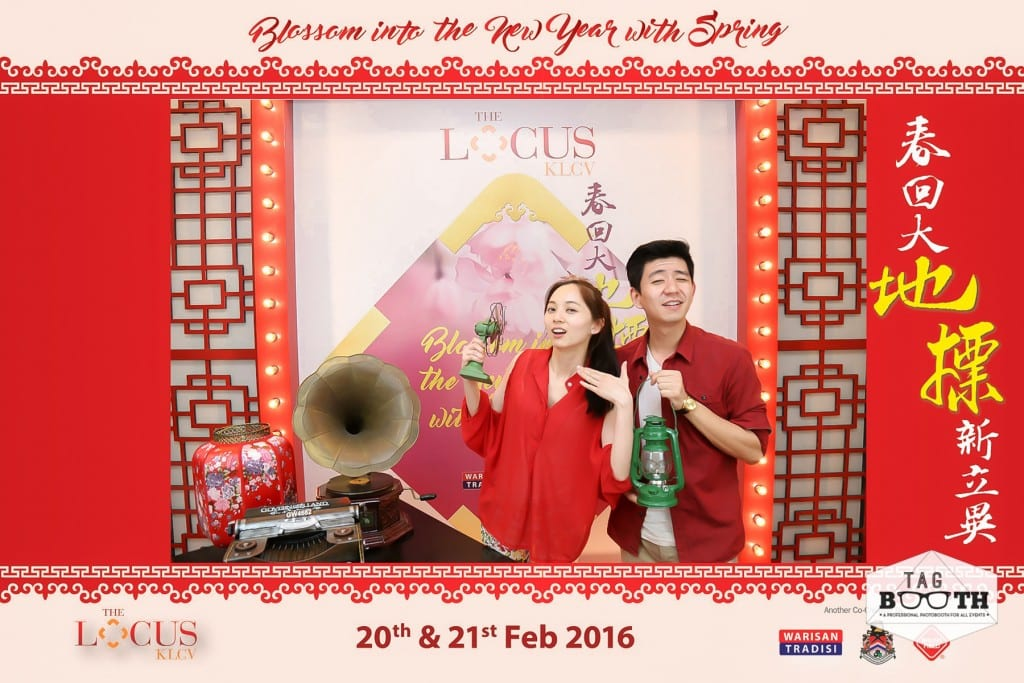 Chinese New Year Photobooth