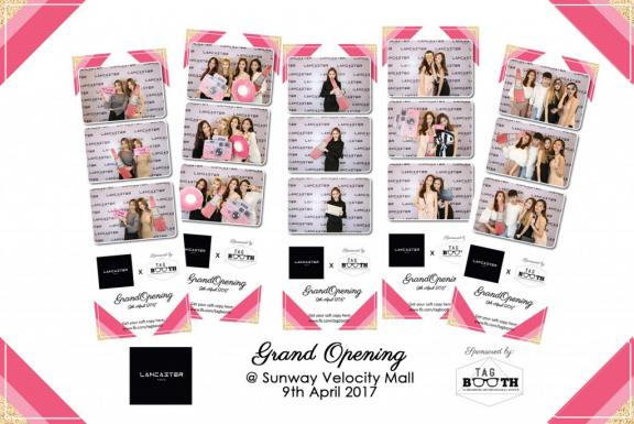 Photobooth rental for grand oprning event