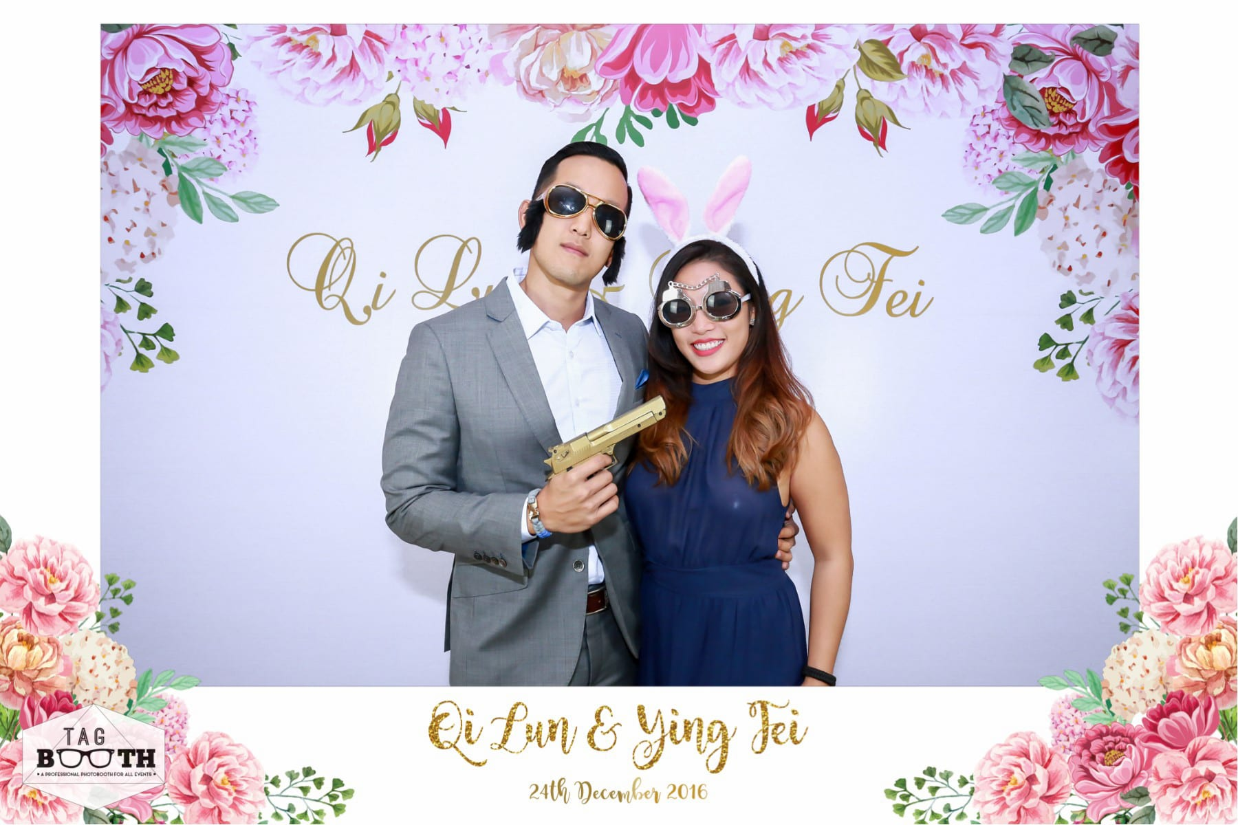 Wedding Photo booth Idea