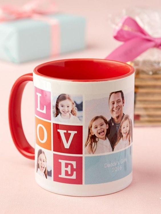 Photo Mug Printing Gift Idea