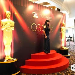 Oscar Themed Photowall