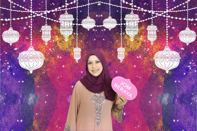 Hari Raya Green Screen Photobooth