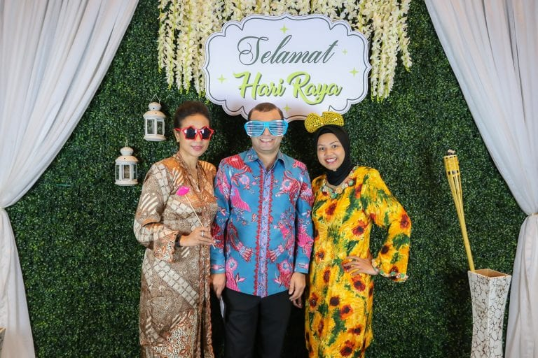 Fun Ideas For Hari Raya Celebrations Open House Tagbooth Photobooth