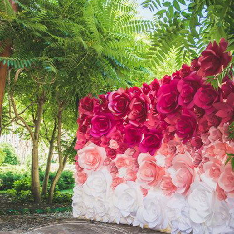 Floral Backdrop Photobooth Malaysia
