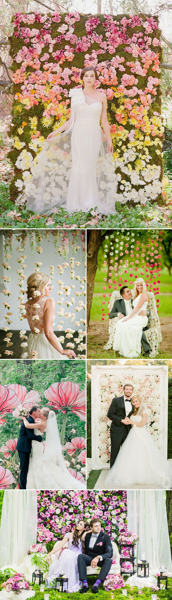 Floral Photobooth Backdrop