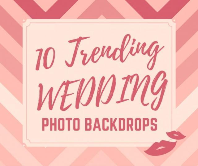 Wedding Photo Backdrop