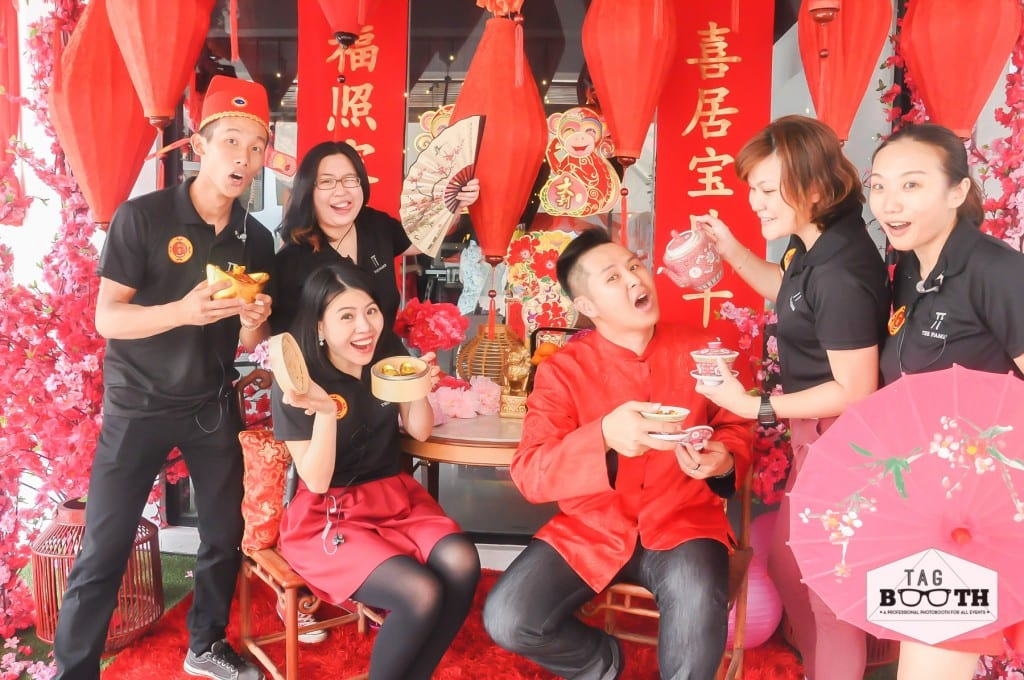 Chinese New Year Photoboth