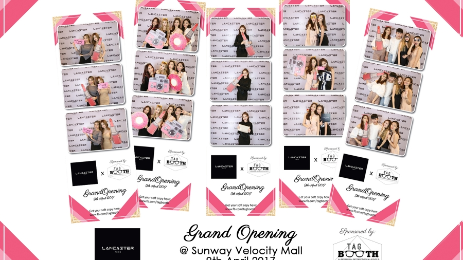 Photobooth rental for grand opening event