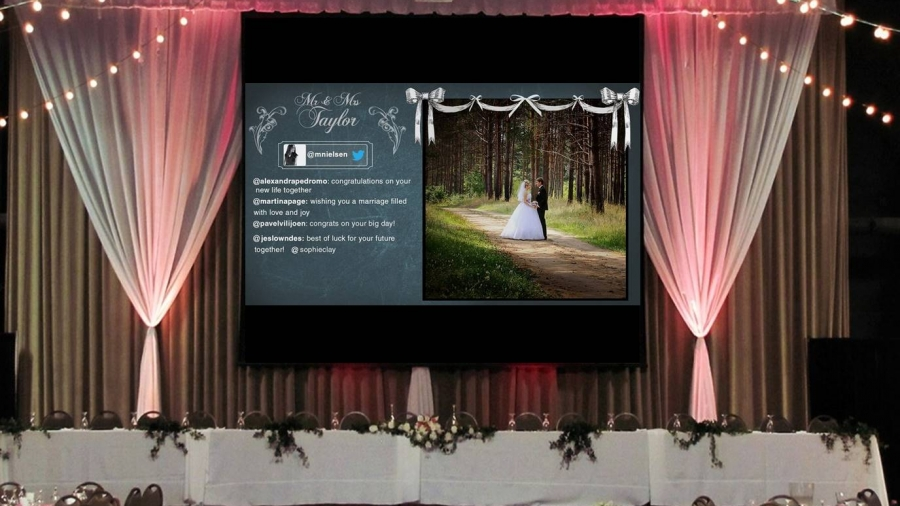 Live Instagram feeds and slideshows for events. Display live real-time Instagram and Twitter slideshows for festivals, parties, weddings, conferences, concerts, ...