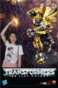Transformers Green Screen PHotobooth