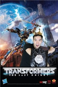 Transformer Green Screen Photobooth